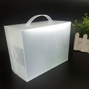 Matte PP Packing Box for Advertisment